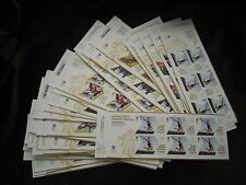 London 2012 Olympic Games Gold Medal Winners Miniature Sheets, Sold Individually