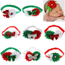 Sequined Baby Elastic Bow Hair Band Headband Hair Accessories Christmas Gift