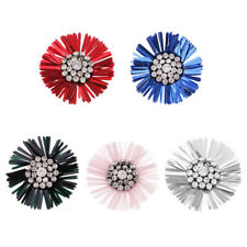 Flower Crystal Sequins Sequin Sewing Applique for Stage Costume Decoration Craft