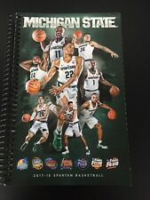 2017-18 Michigan State Spartans Basketball Media Guide