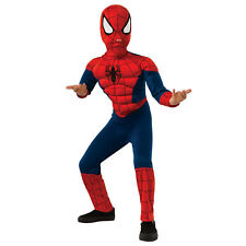 New Boys Marvel Ultimate Spider-Man Muscle Chest Halloween Costume - Child Size