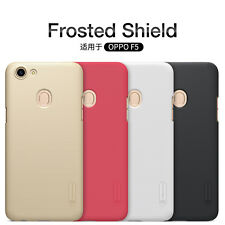 For Oppo F5 Nillkin Matte Fashion Hard PC Back Cover Thin Case Shield + LCD Film