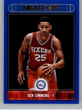 2017-18 Panini Hoops Blue (Blaster Exclusive Parallel) Pick From List 1-250