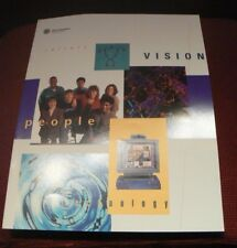 Silicon Graphics Computer System SGI Culture/Vision/Technology Pamphlet