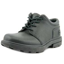 Timberland Rugged Street II Oxford Youth  Round Toe Leather Black Oxford