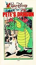 Disney Pete's Dragon VHS Clamshell 1977 Rare Tape 010 VTG Case Nearly New