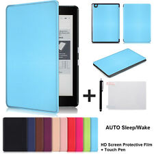 Magnetic Sleep/Wake PU Leather Case Cover For KOBO Arua Edition 2 eReader 6 Inch