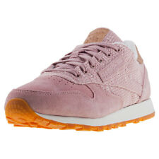 Reebok Classic Leather Ebk Womens Trainers Blush Pink New Shoes