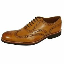 GRENSON DYLAN MENS TAN BROGUE SHOES
