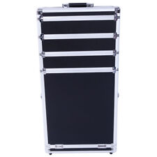 SM-7072 Pro 3-in-1 Aluminum Rolling Makeup Cosmetic Train Case Wheeled Box