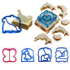 New DIY Kids Sandwich Toast Cookies Cake Bread Biscuit Food Cutter Mold Mould