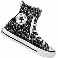 CONVERSE ALL STAR PARTY HI Graphic Chuck Taylor Hi Trainers Stars Hearts 647723c