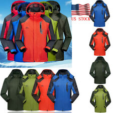 Mens Winter Waterproof Windproof Windbreaker Outdoor Sports Hiking Jacket Coat