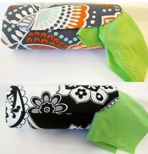 Vera Bradley Hard Shell Eyeglass / Sunglasses Case with Cleaning Cloth New Tag