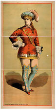 Photo Print Vintage Poster: Theatre Flyer 1800s Blank Unknown 23