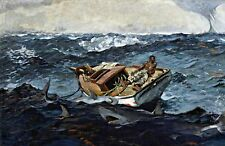 The Gulf Stream by Winslow Homer. Fine Art Repro Made in U.S.A Giclee Prints