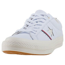 Converse One Star Ox Trainers White New Shoes