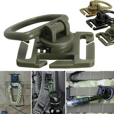 2/5Pcs Molle Strap Backpack Bag Webbing Connecting Buckle Clip EDC Outdoor Tool`