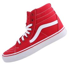 Vans Shoes Sk8 Hi Skate Shoes Vans Sneaker Skate Shoes Red Casual Unisex
