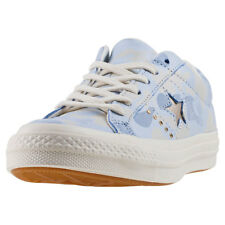 Converse One Star Ox Womens Trainers Pastel Blue New Shoes