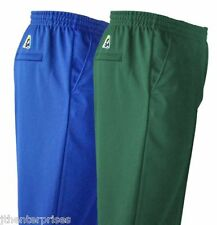 Bowls Australia Mens Comfit Fit SHORTS Drawstring Waist 10 Colours XS to 6XL