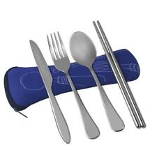 VICBAY 4 Pieces Stainless Steel Flatware Set, Knife Fork Spoon Chopsticks...