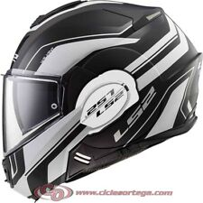 Casco modular LS2 VALIANT FF399 LUMEN Matt/Gloss Black Light talla S