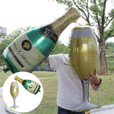 Champagne Cup Beer Bottle Balloons Foil Balloons Party New Year Kids Toys Decor