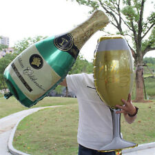 Foil Balloons Champagne Cup Beer Bottle Balloons Kids Toys Party New Year Decor