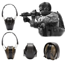 Noise Canceling Electronic Ear Muffs Protection Hunting Shooting Sport Tactical