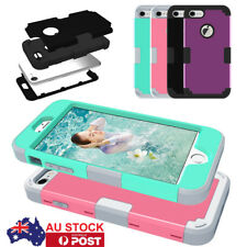 Hybrid Rugged Heavy Duty Shockproof Rubber Hard Case Cover For iPhone 7 4.7'' AU