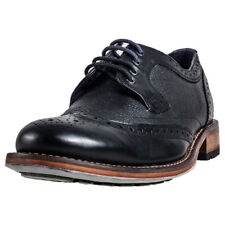 Ted Baker Cassiuss 4 Mens Black Leather Brogues