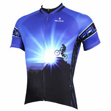 Men's Sports Cycling Jersey Clothing Bicycle Short Sleeve Tops Quick Dry O0063