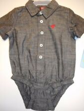Baby boys creepers My First Wrangler Boys clothes One Piece Bodysuit 3/6-6/9 mos