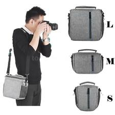 SLR Camera Sling Backpack Shoulder Bag Waterproof For Nikon Canon Camcorder A0N5