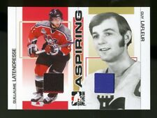 2005-06 ITG Heroes and Prospects GUY LAFLEUR/LATENDRESSE Dual Jersey Card /50