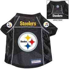 NEW PITTSBURGH STEELERS PET DOG PREMIUM NFL ALTERNATE JERSEY w/NAME TAG