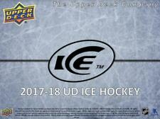 2017-18 Upper Deck Ice Jersey and Autograph Cards Pick From List (All Sets)