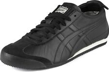 Asics Onitsuka Tiger Mexico 66 Trainers dl408-9090 Shoes Black Leather 37