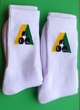 Lawn Bowls Socks BA Logo Cotton Cushion Foot Socks  Crew Length x 2 Pairs