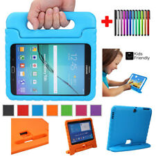 Kids Safe EVA Foam Handle Shockproof Stand Cover Case For Samsung Galaxy Tab 3 4