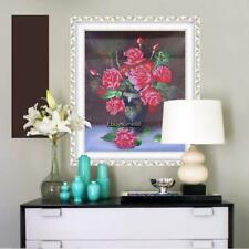 5D Rose Vase Diamond Painting Mosaic Embroidery DIY Craft Cross Stitch EHE8