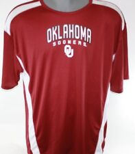 NEW Mens MAJESTIC Section 101 Oklahoma Sooners OU NCAA Legacy Maroon Shirt