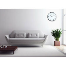 Silent Universal Round Wall Clock Easy to Read Non Ticking Analog Wall Clock