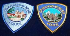2 Different Carmel by the Sea Police Patches Free Shipping