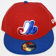 NEW Mens NEW ERA Montreal Expos Two Tone MLB 59FIFTY Baseball Fitted Hat Cap