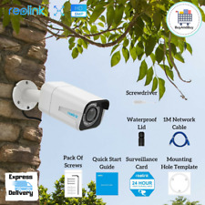 New Reolink PoE RLC-511 Bullet  Security Camera IP Outdoor 4MP 5MP Optical Zoom