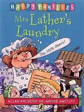 NEW - MRS LATHER'S LAUNDRY  HAPPY FAMILIES  Allan Ahlberg (original)