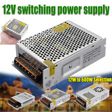 12V Switching Power Supply Driver For LED Strip Led Adapter 12W To 600W Select