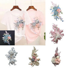Beauty Embroidery Flower Sew On Patch Badge Bag Hat Jeans Dress Applique Craft #